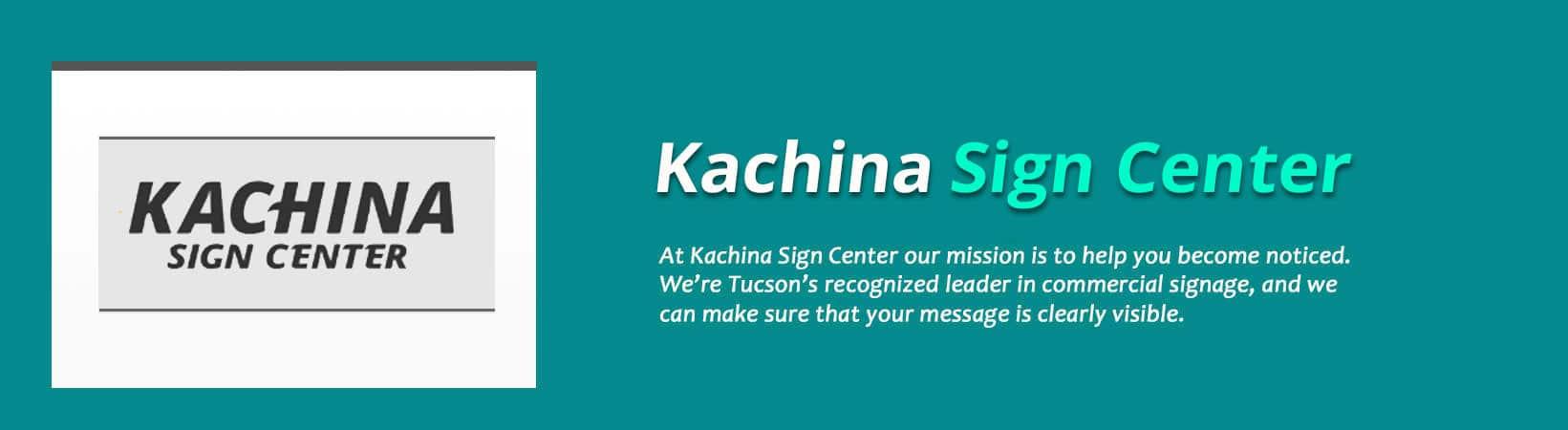 Kachina Sign Center