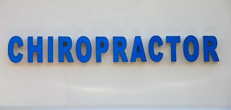 Chiropractic Locations Leverage Professional Signage